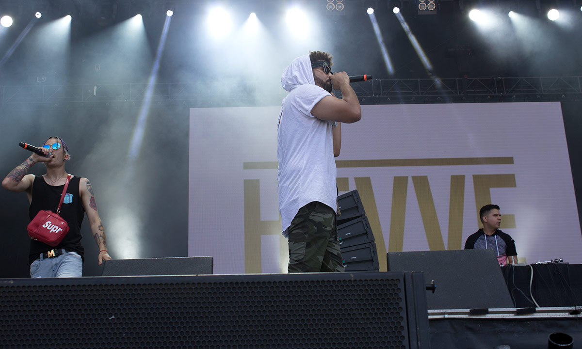 Bluesfest Day 9 featured HEVVE, Dynamic, Rae Sremmurd and more