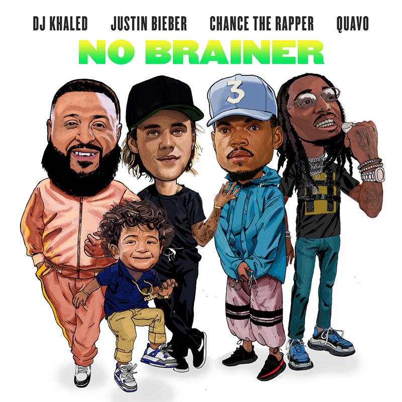 No Brainer: DJ Khaled single reunites Justin Bieber, Chance The Rapper and Quavo