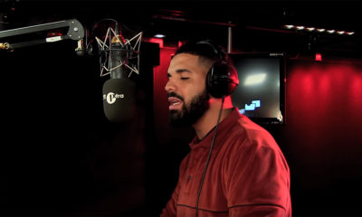 Drake releases Fire In The Booth freestyle on BBC Radio 1Xtra