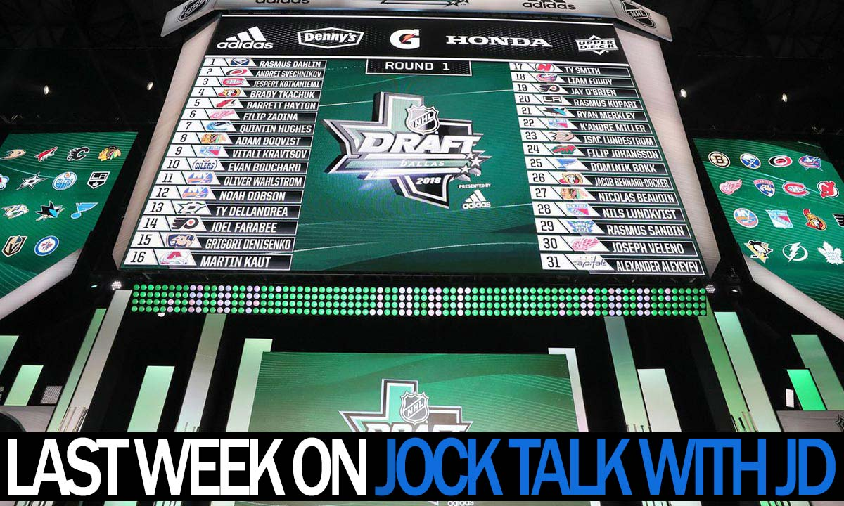 Jock Talk with JD: Tavares comes home, LeBron chooses LA, Free Agent frenzy and more