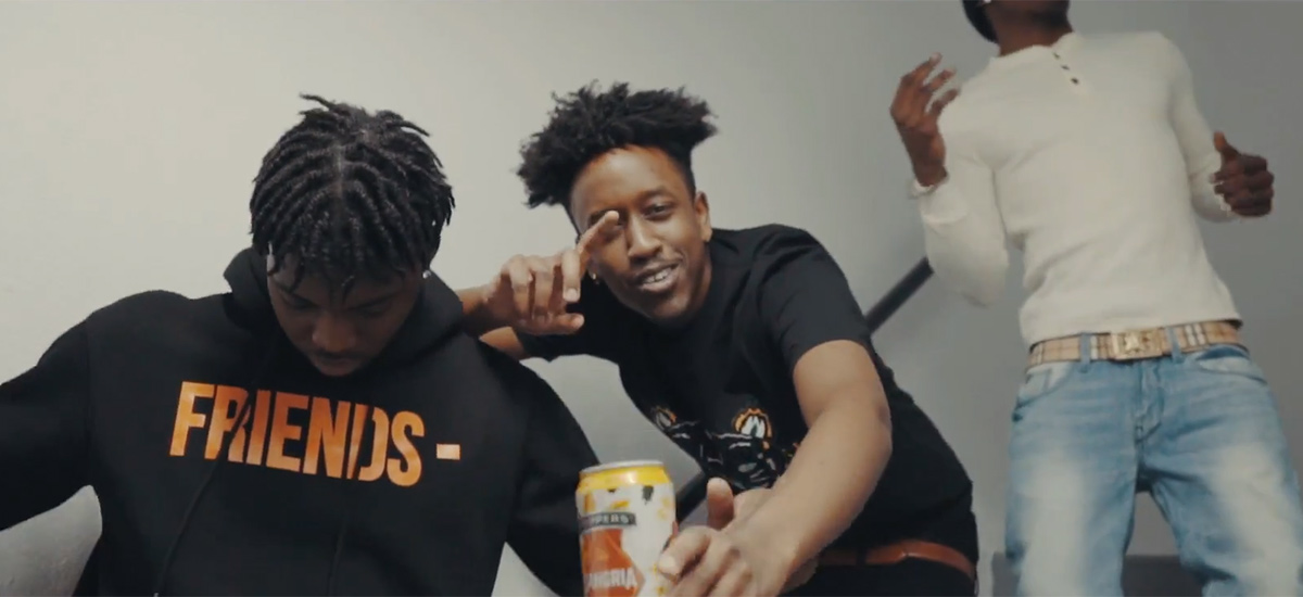 Prince Geezy and Pnny team up for the Alley Oop Freestyle video