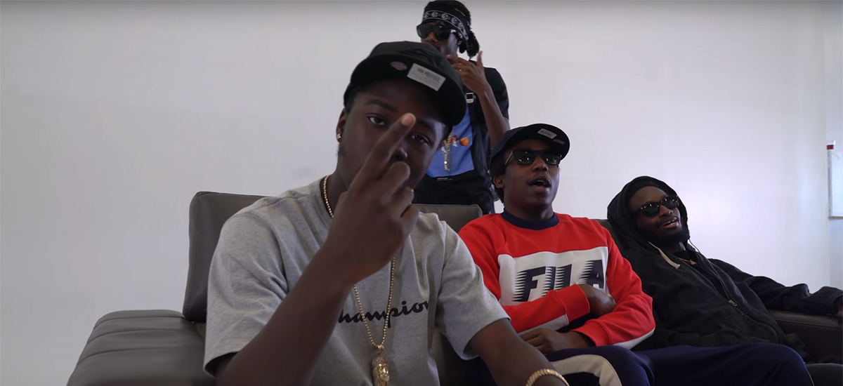 One of Mines: New video from Robin Banks, Burna Bandz, Houdini and Tallup Twinz