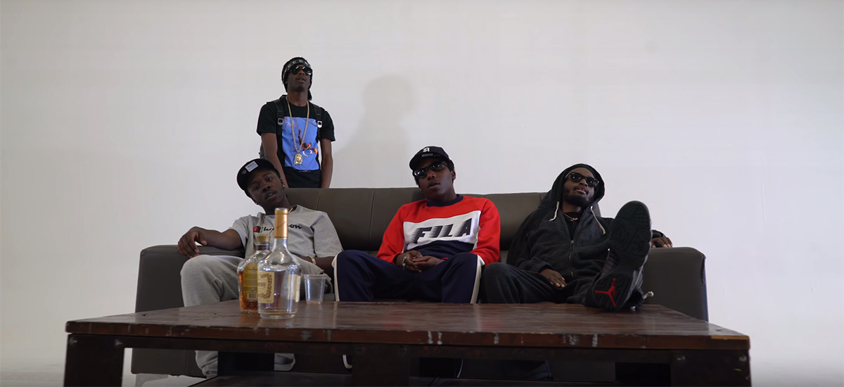Out of Mines: New video from Robin Banks, Burna Bandz, Houdini and Tallup Twinz