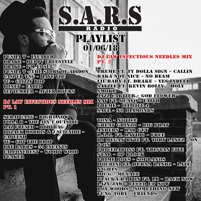 Check out the latest from Toronto-based SARS Radio (Ep. 127-130)