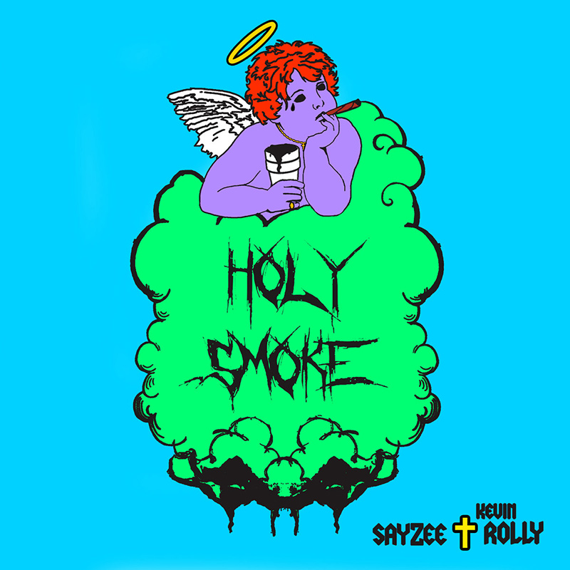 Sayzee and producer Kevin Rolly release the Holy Smoke EP