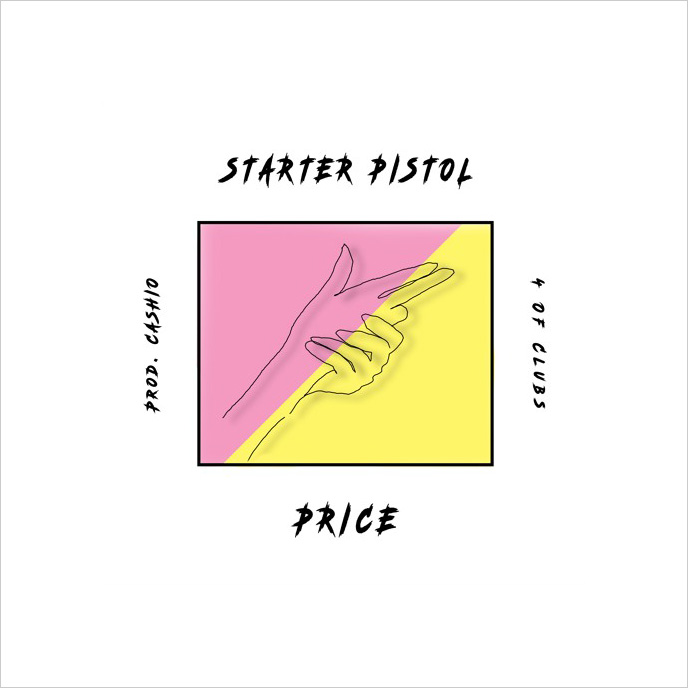 Toronto artist and actor Price previews EP with Starter Pistol single