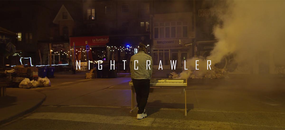 Toronto artist Raz Rabin enlists Samureye Films to direct Nightcrawler video