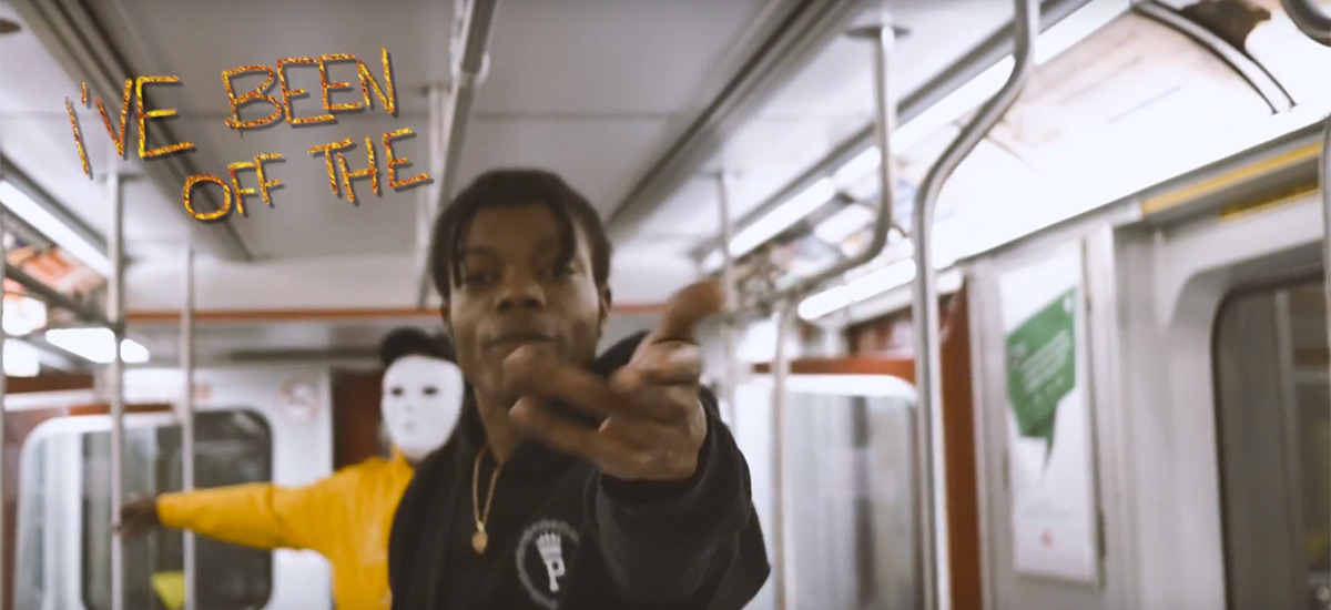 Toronto artist Troy Phoenix releases the OTS - Off The Shit video