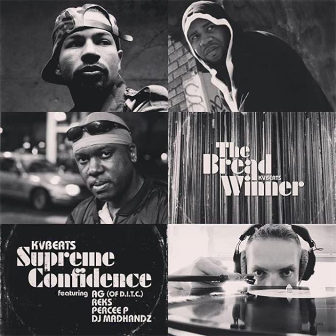 Supreme Confidence: KVBeats enlists AG, Reks, Percee P and DJ Madhandz for single