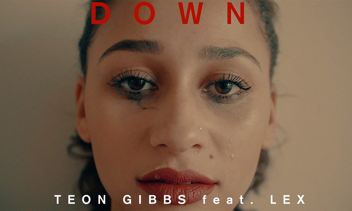 Vancouver artist Teon Gibbs enlists Lex for Down video