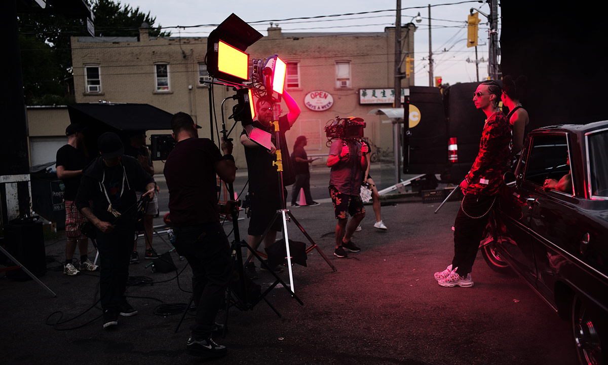 Fresh drops visuals for Chuck Hertz-produced Takeoff