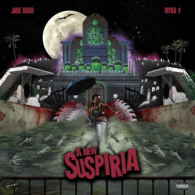 Producer Jade River and Myka 9 drop collaborative LP, A New Suspiria