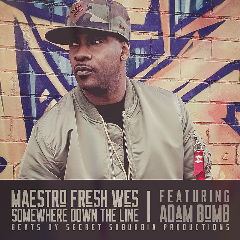 Somewhere Down The Line: Maestro Fresh Wes enlists Adam Bomb for single