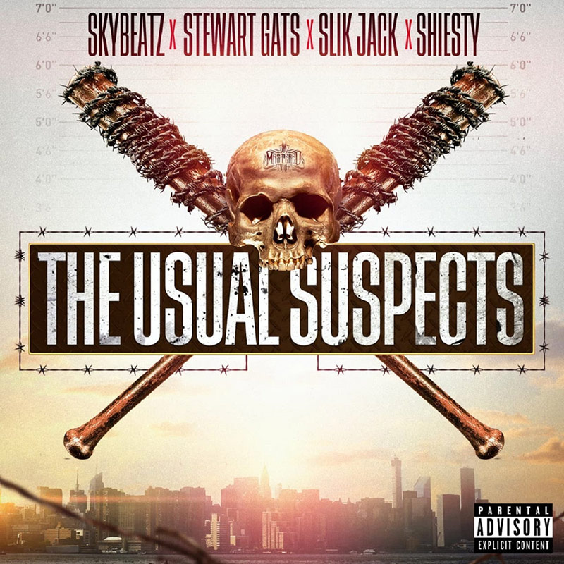 Montreal-based Slik Jack, S.Gats, Shiesty and Skybeatz are The Usual Suspects
