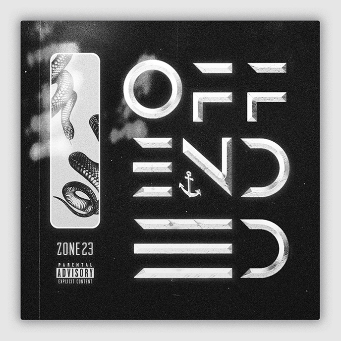 Toronto artist ZONE23 enlists Mike Lowrey for Offended