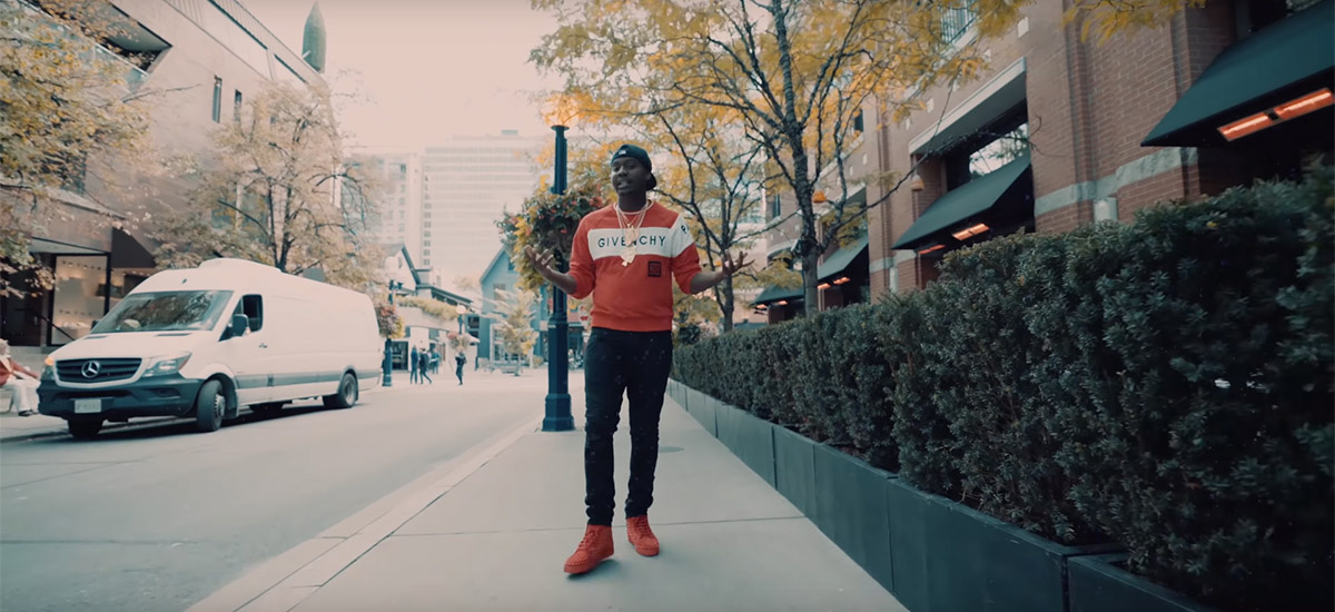 Toronto up-and-comer Bvlly releases the No Light Bag video