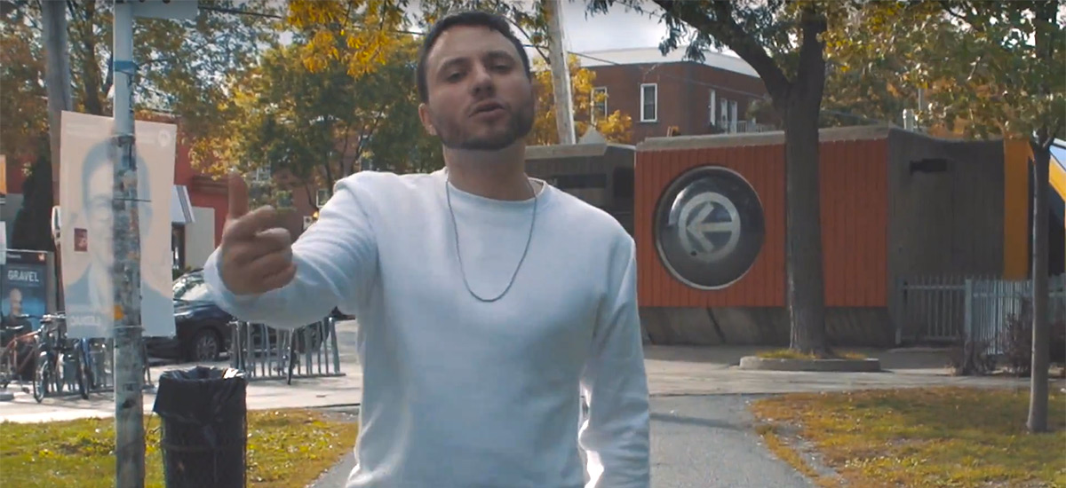 Montréal artist Chuck Hendrix drops new visuals for Grey featuring David Campana