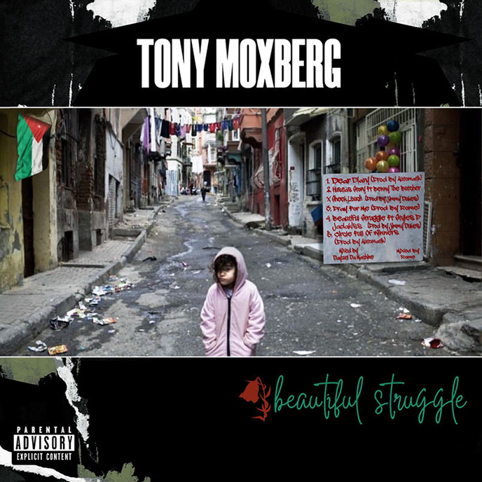 Yonkers rapper Tony Moxberg enlists The Lox for Beautiful Struggle EP