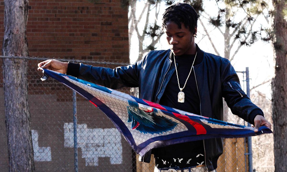 Photo of Toronto rapper Burna Bandz