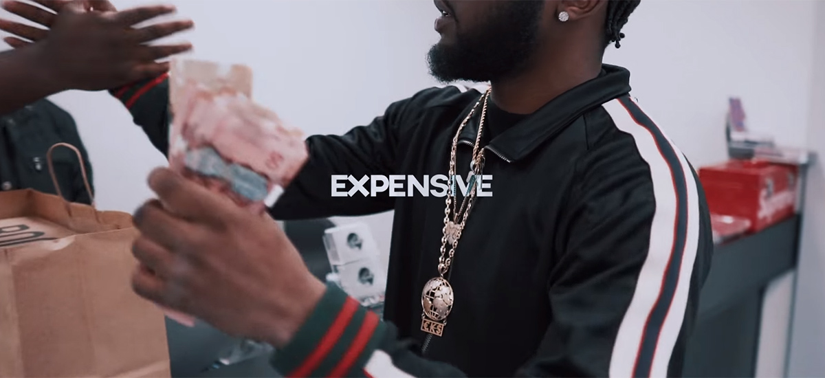 Expensive: Gustavo Guaapo drops new visuals for The Andretti-produced single