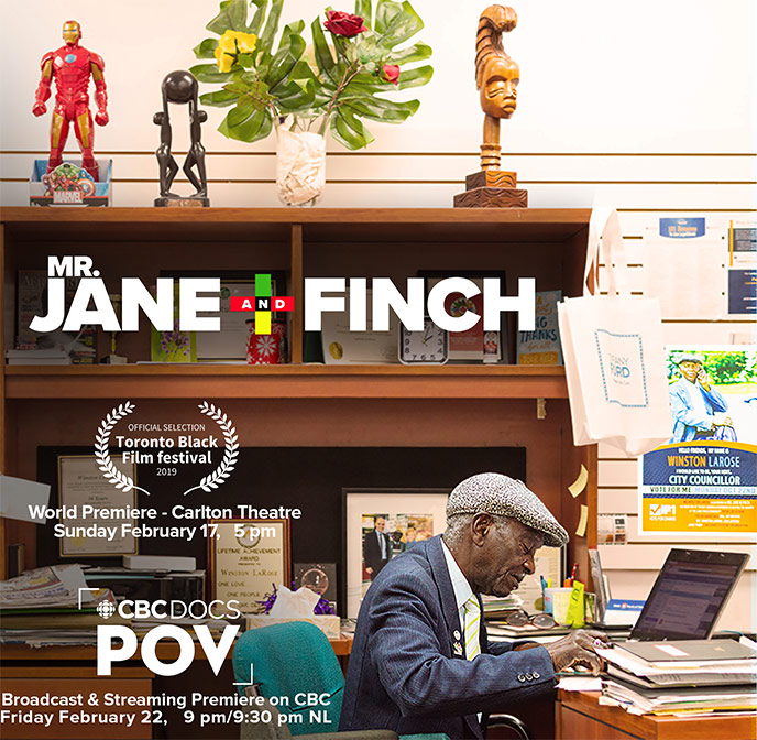 Mr. Jane And Finch documentary to make national television debut on CBC POV and Gems