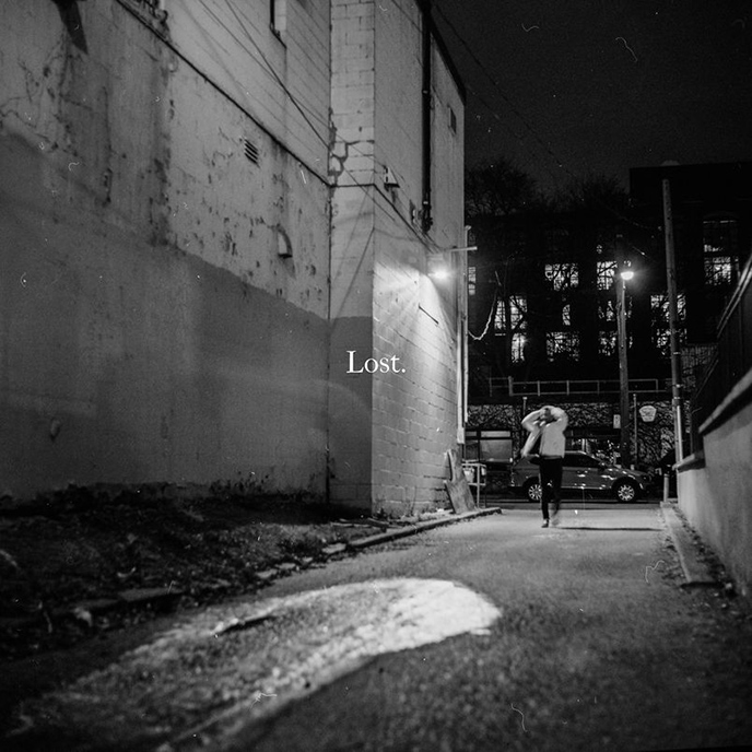 Artwork for Lost EP by Toronto artist and songwriter, Ollie