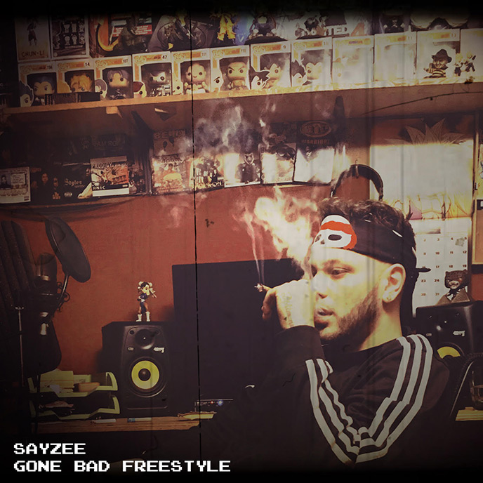 NewAgeSound rapper Sayzee releases the Gone Bad freestyle