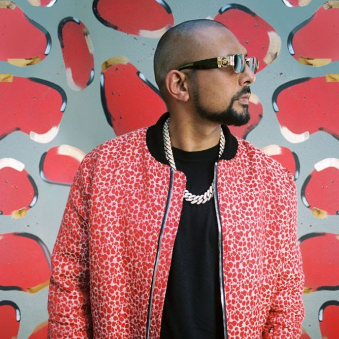 A photo of dancehall great Sean Paul, taken by photographer Savannah Baker and supplied by Island Records