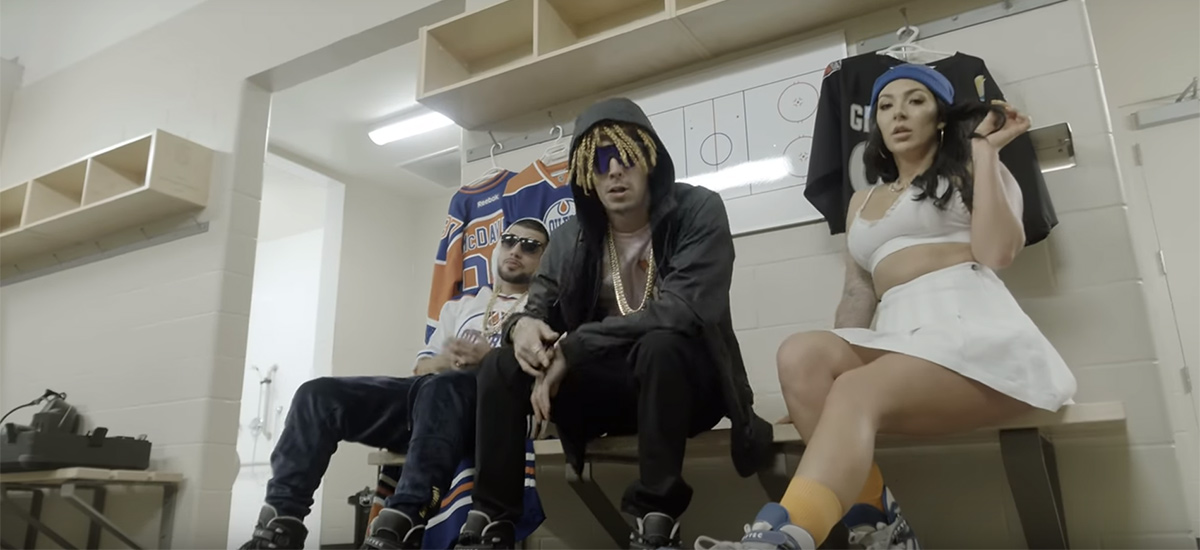 The Great One: Swisha T enlists Lil Windex for Wayne Gretzky video