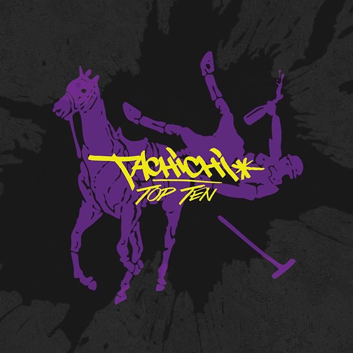 Artwork for the new Top Ten album from Halifax artist Tachichi
