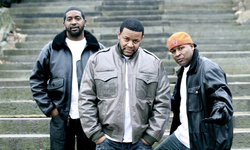 A photo of Bronx New York rap trio, The Legion.