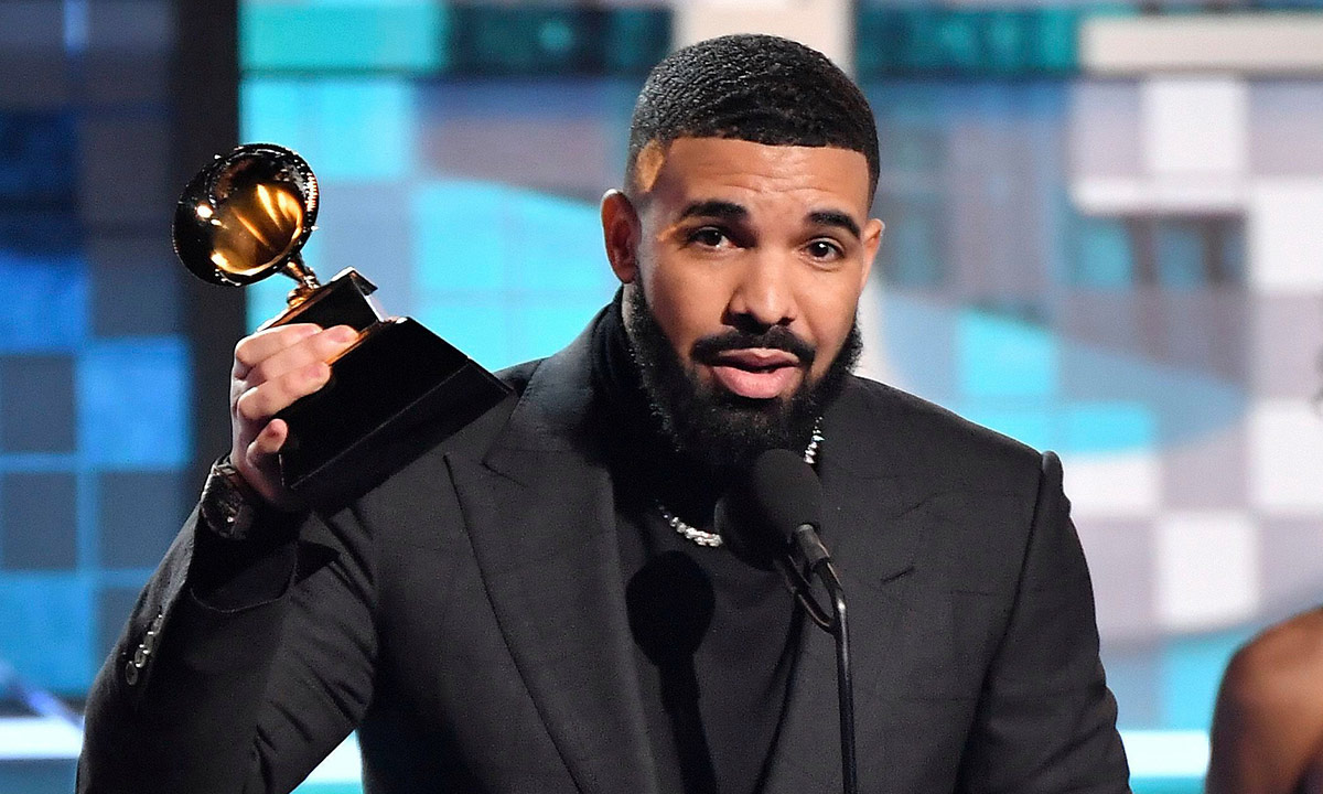 Drake wins Grammy for Best Rap Song