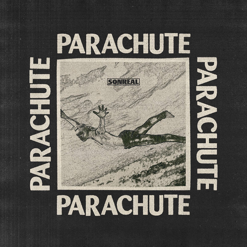 Official artwork for the new Parachute single by SonReal