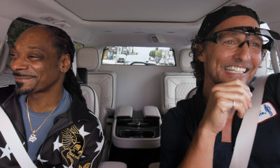 Snoop Dogg and Matthew McConaughey hit Carpool Karaoke to promote The Beach Bum