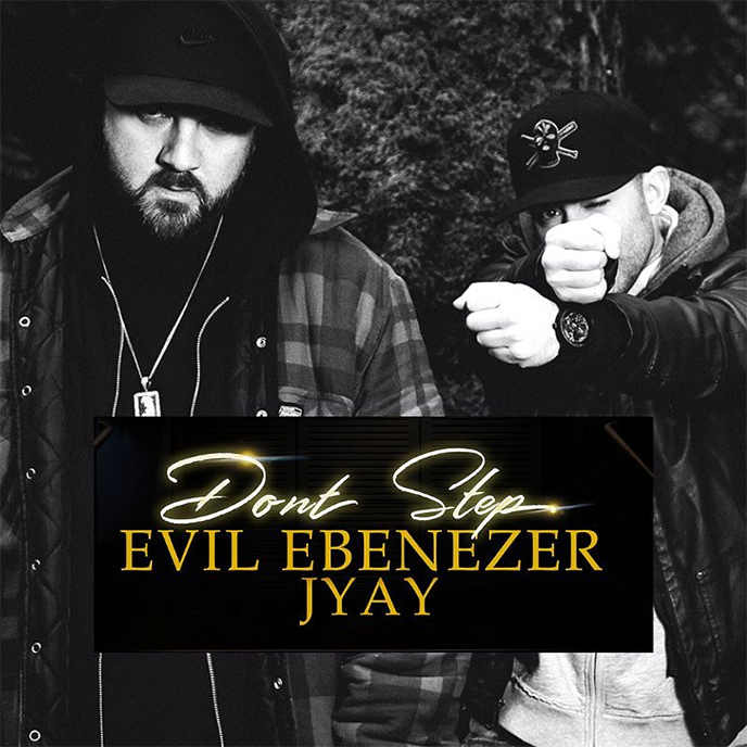Don't Step: Evil Ebenezer and JYAY preview collaborative album with single