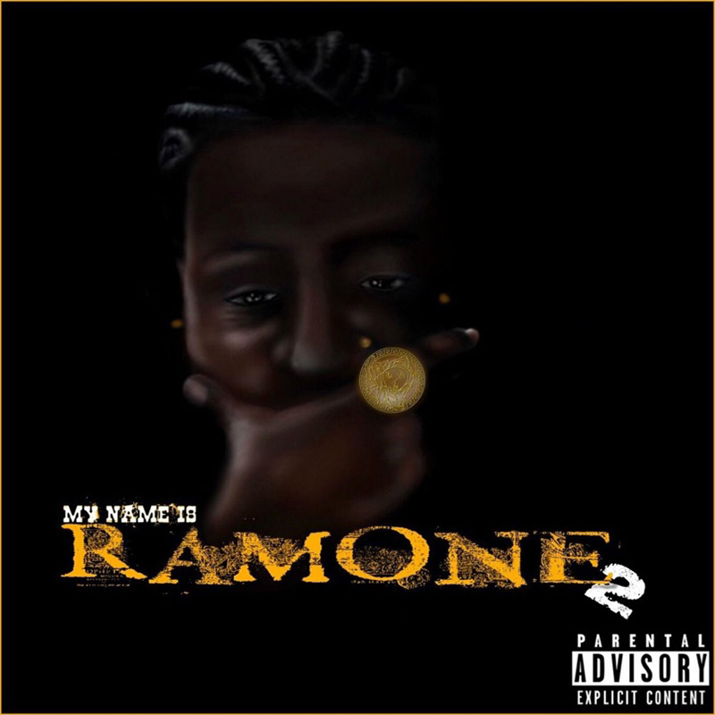EP artwork for My Name Is Ramone 2 by Toronto rapper Ramone.