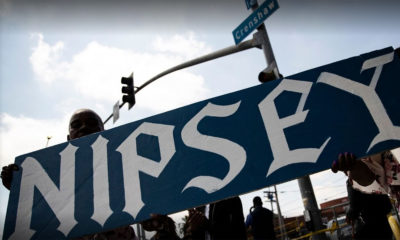 Los Angeles to rename intersection after Nipsey Hussle