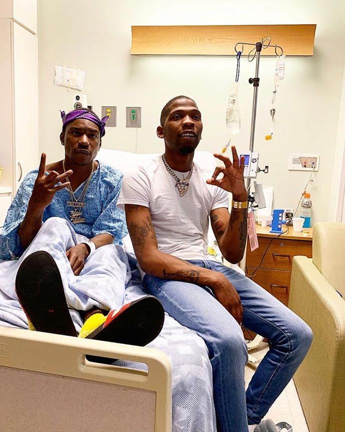 LA rapper Lil One Hunnet shot leaving Nipsey Hussle vigil