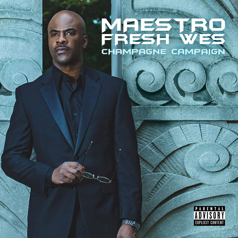 Maestro Fresh Wes celebrates 30 years of hip-hop with latest album Champagne Campaign