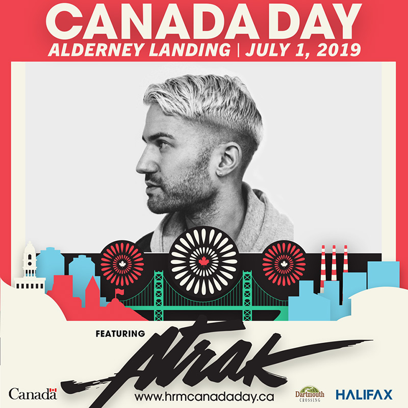 Catch A-Trak and The Sorority in Dartmouth for a free Canada Day concert