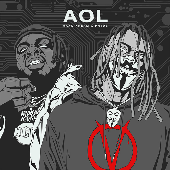PH4DE and Maxo Kream release the cyber trap anthem AOL