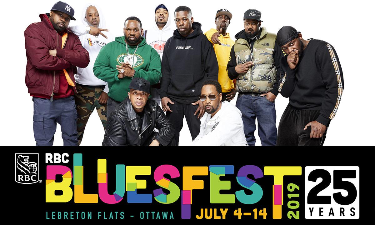 5 days until Ottawa Bluesfest: Murda Beatz, Wu-Tang, Snoop Dogg, The Sorority, Logic, VI and more