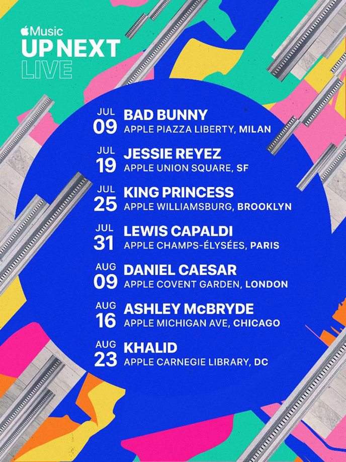 Daniel Caesar and Jessie Reyez included in Apple Music summer tour