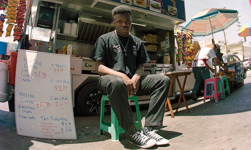 Photo of Las Vegas rapper Baby Keem