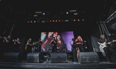 Ottawa band BLAKDENIM performing at Ottawa Bluesfest 2019