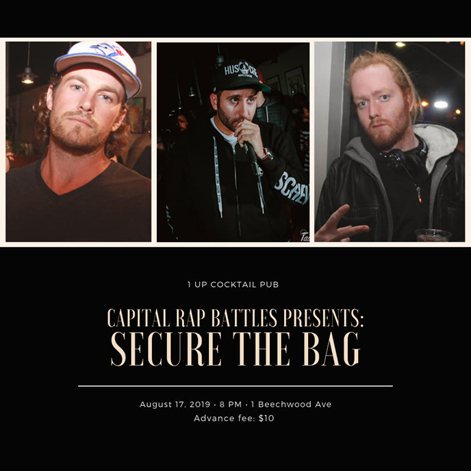 Secure the Bag: Next Capital Rap Battles event taking place Aug. 17 in Ottawa