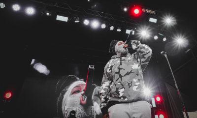 Photos: Masked New York rapper Leikeli47 at Ottawa Bluesfest