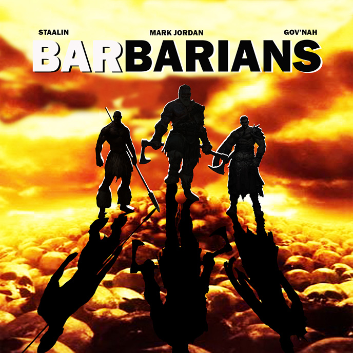 Barbarians: Staalin enlists Govnah the Warlord and Mark Jordan for new single