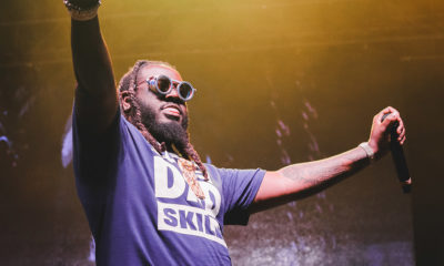 T-Pain performs to a packed crowd at Ottawa Bluesfest 2019