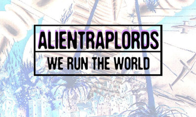 Artwork for the new Alien Trap Lords single We Run The World